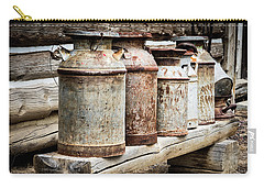 Antique Milk Cans Carry-all Pouch