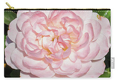 Antique Pink Rose Carry-all Pouch by Mark Barclay