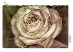 Antique Rose Carry-all Pouch