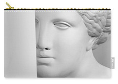 Carry-all Pouch featuring the photograph Antique Sculpture by Andrey  Godyaykin