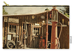 Antique Service Station Carry-all Pouch