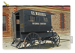 Antique U.s Marshalls Wagon Carry-all Pouch