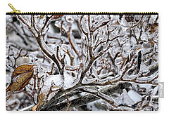Antlers Of Ice Carry-all Pouch