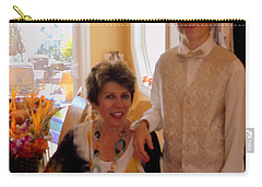 Antonia And Grandson Carry-all Pouch