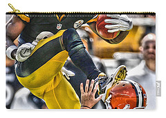 Antonio Brown Steelers Art 5 Carry-all Pouch
