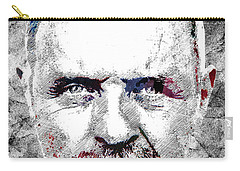 Antony Hopkins Carry-all Pouch by Mihaela Pater