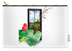 Anthurium 2 Carry-all Pouch