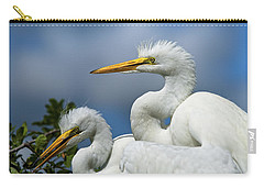 Anxiously Waiting Carry-all Pouch by Christopher Holmes