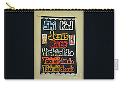 Carry-all Pouch featuring the photograph Any Language by Debby Pueschel