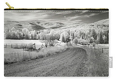 Carry-all Pouch featuring the photograph Any Road Can Take You There by John Rivera