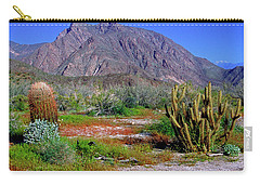 Anza-borrego Desert State Park Ca Carry-all Pouch