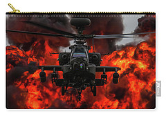 Apache Wall Of Fire Carry-all Pouch