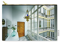 Carry-all Pouch featuring the photograph Apartment In The Heart Of Cadiz 17th Century Cadiz by Pablo Avanzini