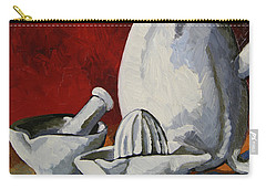 Carry-all Pouch featuring the painting Apilco No. 4 by Erin Fickert-Rowland