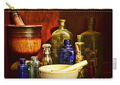 Apothecary - Tools Of The Pharmacist Carry-all Pouch by Paul Ward