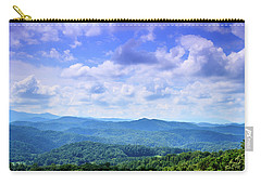 Appalachian Beauty - Mountain Landscape Carry-all Pouch by Barry Jones