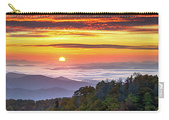 Appalachian Mountains Asheville North Carolina Blue Ridge Parkway Nc Scenic Landscape Carry-all Pouch