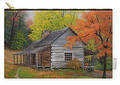 Appalachian Retreat-autumn Carry-all Pouch