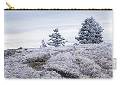 Appalachian Trail Winter Hike Carry-all Pouch by Serge Skiba