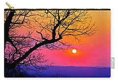 Appalcahian Sunset Tree Silhouette  #1 Carry-all Pouch