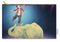 Carry-all Pouch featuring the digital art Applause by Jutta Maria Pusl