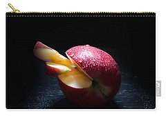 Apple And Drops Carry-all Pouch