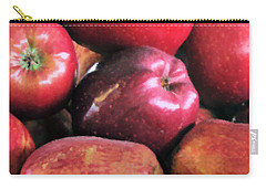 Apple Basket Carry-all Pouch by Kristin Elmquist