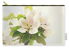 Apple Blossom Retro Style Processing Carry-all Pouch