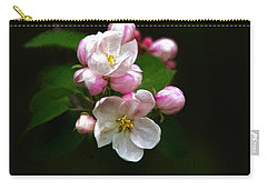 Apple Blossom Time Carry-all Pouch by Trey Foerster