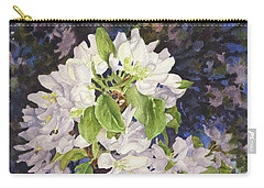 Apple Blossoms At Dusk Carry-all Pouch