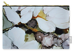 Carry-all Pouch featuring the painting Apple Blossoms by Joanne Smoley