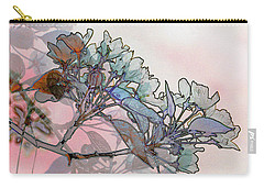 Carry-all Pouch featuring the digital art Apple Blossoms by Stuart Turnbull