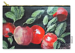 Apple Bunch Carry-all Pouch by Francine Heykoop
