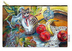 Apple Cat Carry-all Pouch