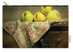 Carry-all Pouch featuring the photograph Apple Cloth by Diana Angstadt