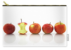 Apple Core Among Whole Apples Carry-all Pouch by GoodMood Art