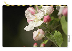 Apple Flower And Buds Carry-all Pouch