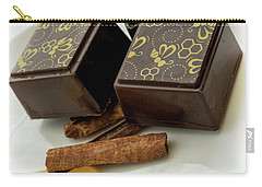 Apple Honey Cinnamon Chocolate Carry-all Pouch by Sabine Edrissi
