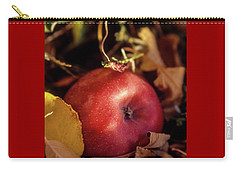 Apple In The Leaves Carry-all Pouch