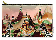 Apple Land Countryside Carry-all Pouch by Barbara Tristan