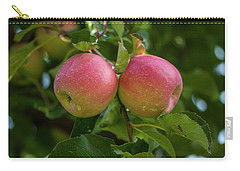 Apple Twins Carry-all Pouch