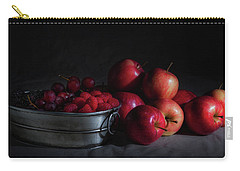 Apples And Berries Panoramic Carry-all Pouch by Tom Mc Nemar