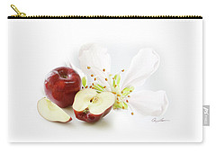 Apples And Blossom Carry-all Pouch