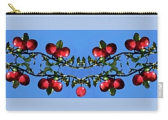 Carry-all Pouch featuring the photograph Apples Bramble by Adria Trail