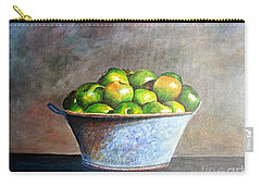 Apples In A Rusty Bucket Carry-all Pouch