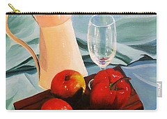 Apples, Lime And Capsicum Carry-all Pouch
