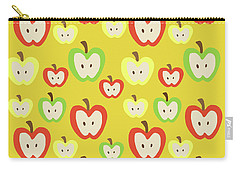 Apples Carry-all Pouch by Nicole Wilson