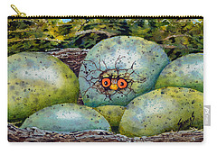 Carry-all Pouch featuring the painting Apprehension by Sam Sidders
