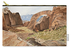 Approaching Rainbow Bridge Carry-all Pouch
