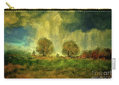 Carry-all Pouch featuring the digital art Approaching Storm At Antietam by Lois Bryan